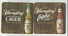 """Lot of 5  Yuengling Beer & Light Coasters-BY DGY Pottsville, Pa 4"""" #082"""