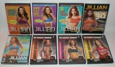 Lot of (8) JILLIAN MICHAELS Workout Execise Fitness DVD's 30-Day Shred Ripped +