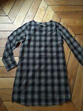Robe Tunique Kookaï Tissu Japonais 34 Façon Blouse Écolier