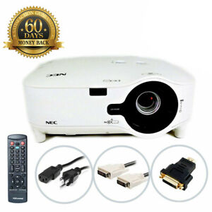 NEC NP2200 3LCD Projector 4200 ANSI HD 1080i HDMI w/Adapter Remote TeKswamp