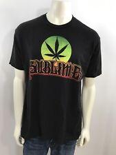 Sublime Men's Size XL Short Sleeve Marijuana Leaf Print T Shirt