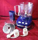 KitchenAid Food Processor KFP350BU Cobalt Blue Little Ultra Power 5-Cup photo