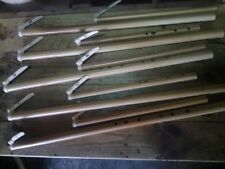 Gamelan Degung Sundanese Traditional Bamboo Instrument Suling Pelog 1 set 10 pcs