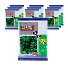 Daechun 10packs Parae Seaweed Laver Korean Seasoned Roasted Sheet Riceball Sushi