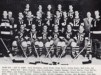 1948 AHL Hershey Bears Team Photo Black & White 8 X 10 Photo Picture
