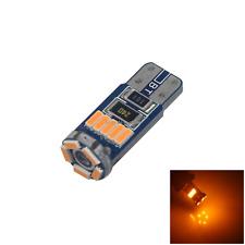 1x Yellow Car T10 W5W Side Light Lamp Marker Lamp Error Free 15 3014 SMD LED Z28