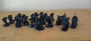 Warhammer Job Lot *Chaos Black* Space Marines Army Mini Starter