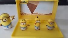 New Micro Minion Playsets - 4 Figures Despicable Me Minions Toys - Free P&P