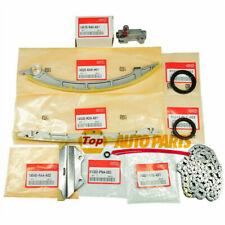 NEW Timing Chain 8Pcs Set For 2008-2012 Honda Accord 2009-2014 Acura TSX 2.4 K24