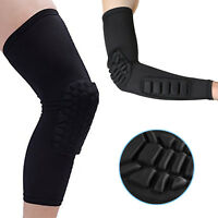 Arm Guard Elbow Pad Knee Protection Sleeve Pad For Sports Basketball Football XL