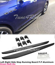 2017-2018 Maserati Levante SQ4 Running Boards Pair Side Steps Rocker Nerf Bars