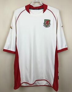 VINTAGE NATIONAL TEAM WALES 2002/2003 AWAY JERSEY SHIRT MAGLIA FOOTBALL SOCCER