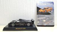 1/64 Kyosho MCLAREN F1 GTR LONGTAIL BLACK diecast car model