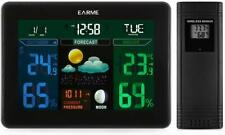 EARME Wireless Digital Colourful Forecast Weather Station LED Thermometer