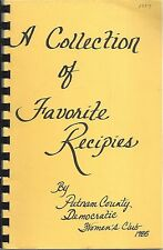 *GREENCASTLE IN 1985 PUTNAM COUNTY DEMOCRATIC WOMEN'S CLUB COOK BOOK *COLLECTION