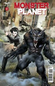 Zenescope Grimm Fairy Tales Monster Planet Issue #2 Cover A Martin Coccolo World