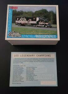1992 Traks Racing Machines 100 Card Set