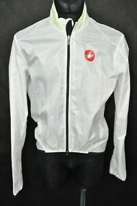 Castelli - Nano Protection - H20 Wind Resistant Cycling Jacket - Size Medium