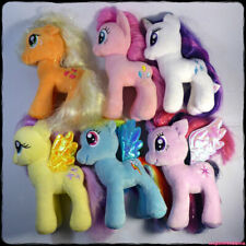 "MY LITTLE PONY 6 Plush Sparkle Unicorn Pegasi 7"" Plush Bundle (Hasbro/Ty) [gotd]"