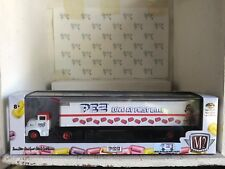 PEZ - M2 Machines White 1956 Ford COE & 1965 Ford Econoline Delivery Van -Sealed