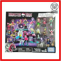 Mega Bloks Monster High Glam Ghoul Band Building Construction Kit Playset