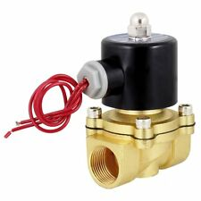 """12VDC 3/4"""" Inch Electric Air Gas Water Solenoid Valve Normally Closed"""