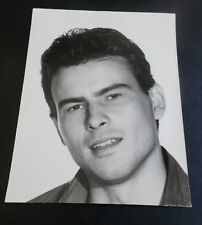 HORST BUCHHOLZ VINTAGE 9X12 PORTRAIT PHOTO BY LEO MASSA & SERGIO STRIZZI ITALY