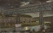 High Bridge, KENTUCKY - 1913 - moonlight