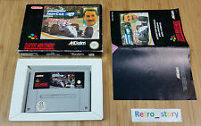 Super Nintendo SNES Indy Car Featuring Nigel Mansell PAL