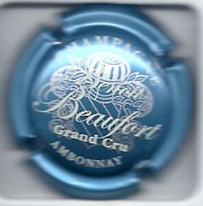 Capsule Of Champagne Benoit Beaufort N° Xx Blue Clair Metal