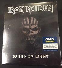 Iron Maiden –Speed Of Light-CDs +T-Shirt XL Box Set Ltd Ed Only Best Buy Sealed