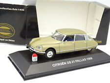 Nostalgie CEC 1/43 - Citroen DS 21 Pallas 1968 Or métal