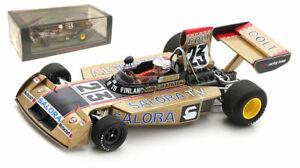 Spark S9654 Surtees TS16 #23 Sweden GP 1974 - Leo Kinnunen 1/43 Scale