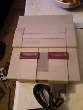 Super Nintendo Console tested working authintic