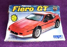 1987 MPC Pontiac Fiero GT Vintage Model Kit #6401 1/25 ERTL (PARTS SEALED)