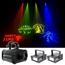 American DJ ADJ GOBO PROJECTOR IR LED Light + (2) Strobe Lights