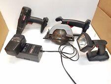 Craftsman Combo set 18V Drill/Driver, Charger, Circular Saw, Flashlight