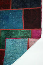 patchwork moderne Used Look délavé PERSAN TAPIS tapis d'Orient 2,34 x 1,74