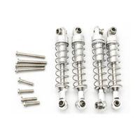 4 Pcs Metal Shock Absorber Damper for WPL C14 C24 C34 MN D90 D91 D96 D99 D9 M2D9
