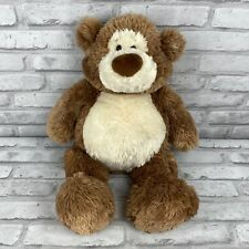 Gund Brown & Cream/White ALFIE Teddy Bear 15314 Stuffed Animal Plush 19""