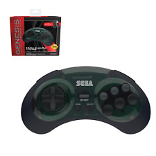 SEGA Genesis 8-Button Arcade Pad - 2.4 GHz Wireless - Shadow
