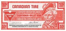 Canada / Canadian Tire  10 Cents  1992  Series   Uncirculated Banknote / Coupon