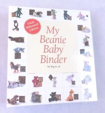 My Beanie Baby Binder- HC Loose Leaf Binder - With All Beanie Baby Pages.