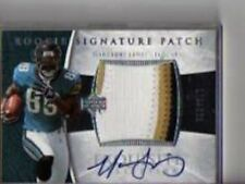 MARCEDES LEWIS 2006 EXQUISITE COLLECTION #124 ROOKIE  AUTO PATCH /225