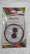 Knit Pro Cable 40cm for Circular Knitting with End Caps N010500