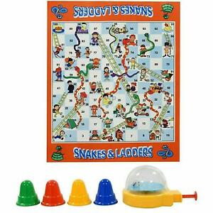 SNAKES AND LADDERS TRADITIONAL BOARD GAME LARGE MAT FAMILY KID ADULT CHILDREN