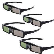 4X Bluetooth Active Shutter 3D Glasses for Epson projector PowerLite Home Cinema
