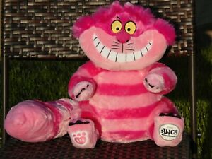 Build A Bear Plush - Cheshire Cat Disney Alice In Wonderland BABW Exclusive NEW