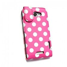Polka Dot Flip Cases for the HTC One X / XL