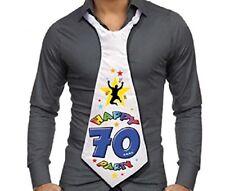 CRAVATTONE 70 ANNI - Gadget idea regalo festa 70° Compleanno, cravatta